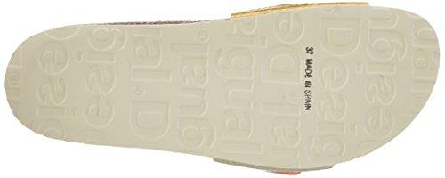 Desigual Damen Bio1 Oro and Plata Sandalen Beige (beige 1024)