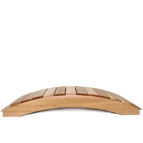 3ft. Cedar Garden Foot Bridge by All Things Cedar