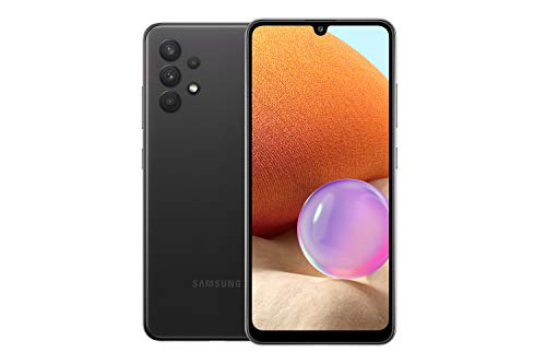 Samsung Galaxy A32 Dual SIM Smartphone, 128GB 6GB RAM 5G (UAE Version), Black