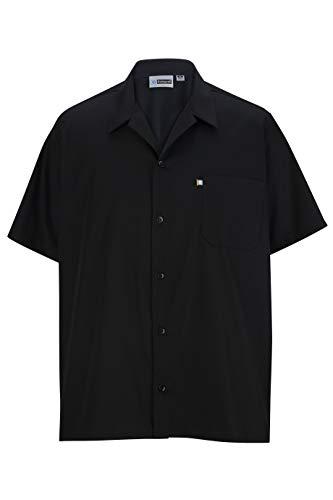 Edwards Button Front Restaurant Cook Shirt with Mesh Back 6XL - Shirt Poplin Cook