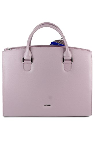 Picard Berlin 4229 Handtasche aus leicht genarbten Leder mauve flieder - 36x30x11cm (B x H x T)