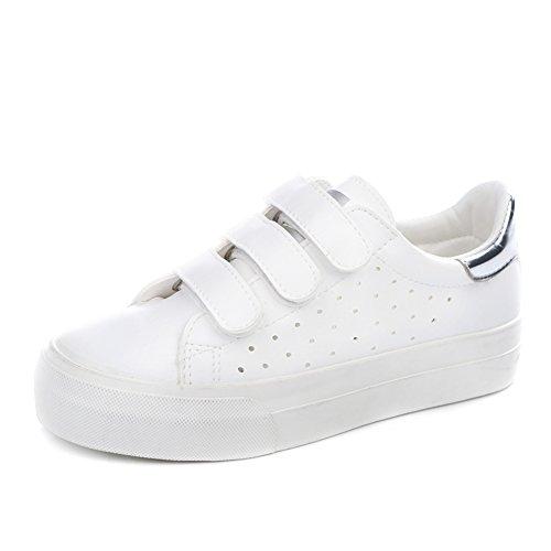 Verano aire fondo plano bajo corte, zapatos/Piso plano con zapatos clásicos/Calzado de deporte estudiantil E