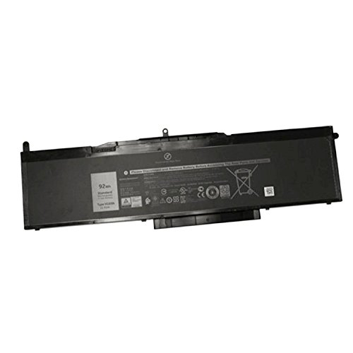Dentsing (11.4V 92Wh/8100mAh 6-Cell VG93N Laptop Battery Compatible with Dell Precision 15 3520 3530 E5580 E5590 5591 Series Notebook 0VG93N WFWKK