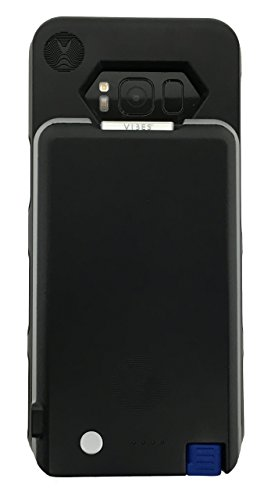 Samsung Galaxy S8+ Battery Case with Removable USB-C Battery Pack for Samsung Galaxy S8 Plus by Vibes Modular (Black)