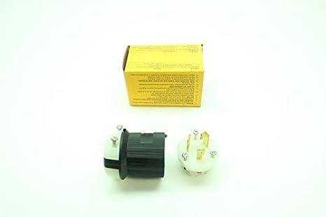 Hubbell HBL2321 Twist Lock Plug NEW !