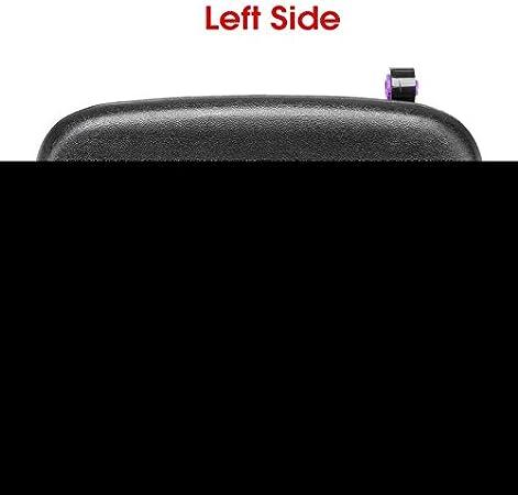 Auto Vorne Hinten /Äu/ßere /Äu/ßere T/ür offen Griff Au/ßent/üren Drehknopf for Suzuki Alto New Schwarz Au/ßent/ürgriffe Links rechts Size : Left NO LOGO XW-MENBS