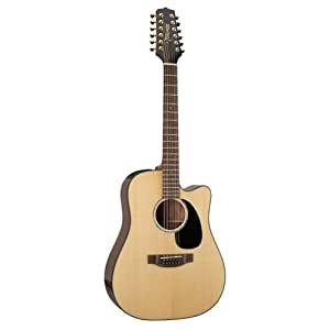 takamine g series eg345c dreadnought 12 string acoustic electric guitar natural. Black Bedroom Furniture Sets. Home Design Ideas