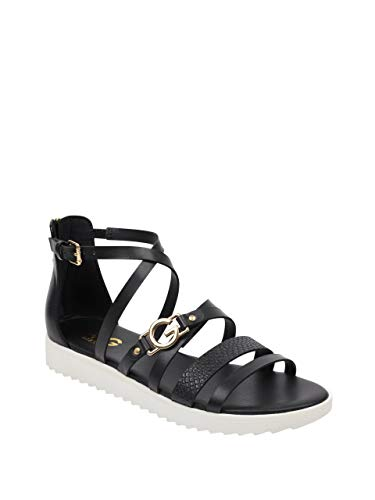 G by GUESS Women's Kelsa Gladiator Sandals Black Multi