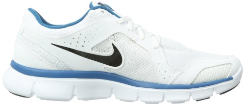 Nike WMN Free 5.0 TR FIT 4 PRT, Scarpe sportive, Donna Bianco (White - Weiß (White/Blue))
