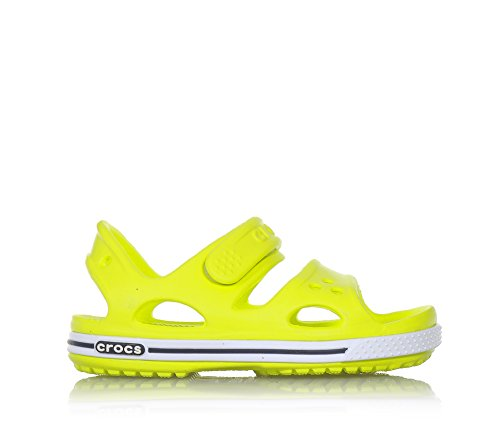 bambini Ii Kids Caviglia Unisex Alla Sandali Crocs Cinturino Crocband Giallo Con 6x5Cwgwzq