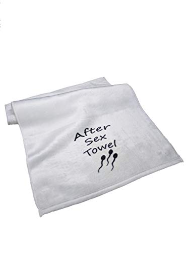 After Sex Towel Funny Gift for Boyfriend or Husband Birthday Present Anniversary 11x18 Wanky Wipe
