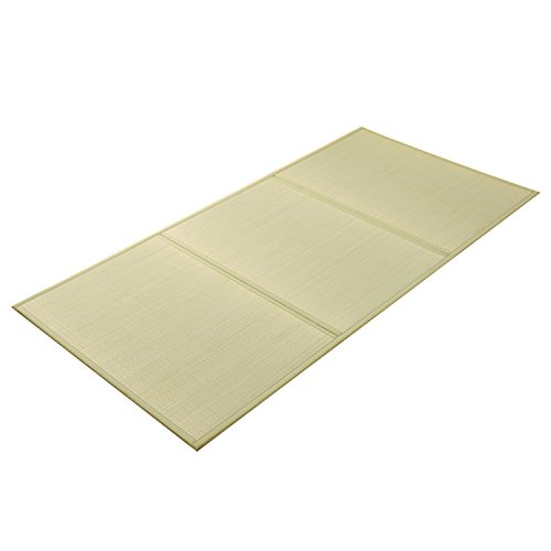 Straw Mat Rolls (IKEHIKO Japanese Traditional Igusa (Rush grass) Tatami Mattress, Twin XL. Made in)