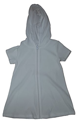 Girls Terry Hooded Swimsuit Cover product image