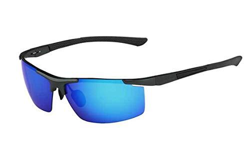 Men'S Sunglasses Polarized Coating Mirror Sun Glasses Male ()