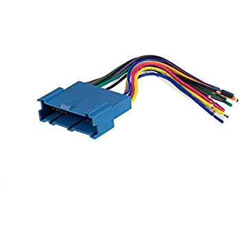 Superb Amazon Com Scosche Gm07B 2000 07 Gm Ribbon Style Harness Car Wiring Cloud Hisonuggs Outletorg