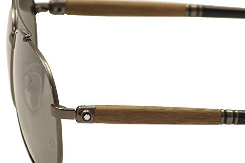 Montblanc MB518S C60 08C: Shiny Gunmetal