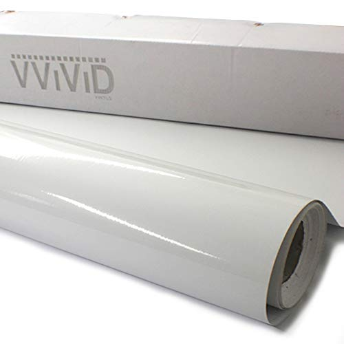 (VViViD Clear Lamination Vinyl Roll for Die-Cutter and Vinyl Plotter (Gloss Finish, 10ft x 54