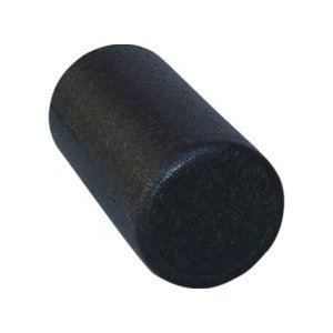Black High Density Foam Rollers Full Round - Extra Firm - 6