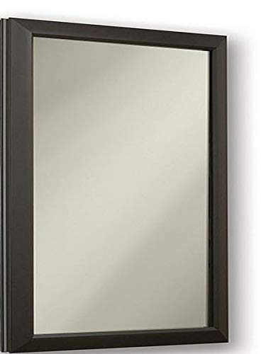 Jensen 625N244BZCL Hampton Locking Security Medicine Cabinet, 15-Inch by 25-Inch, Oil Rubbed Bronze