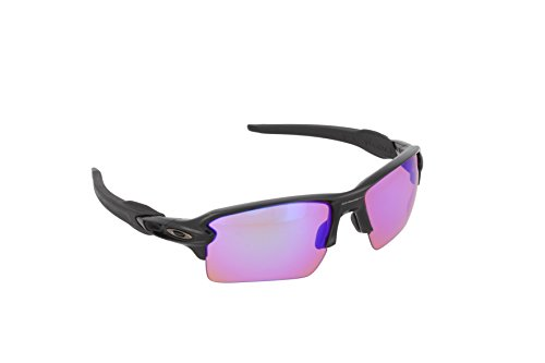 Oakley Men's Flak 2.0 XL Polished Black Prizm Golf - Prizm Lenses For Golf Oakley