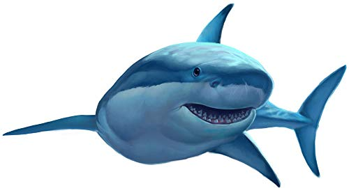 Create-A-Mural : Great White Shark Wall Decal