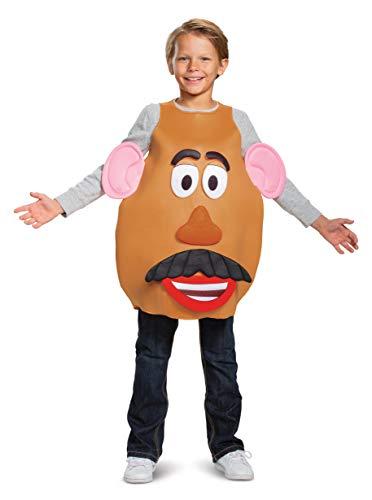 Mrs./Mr. Potato Head Deluxe Costume Brown -