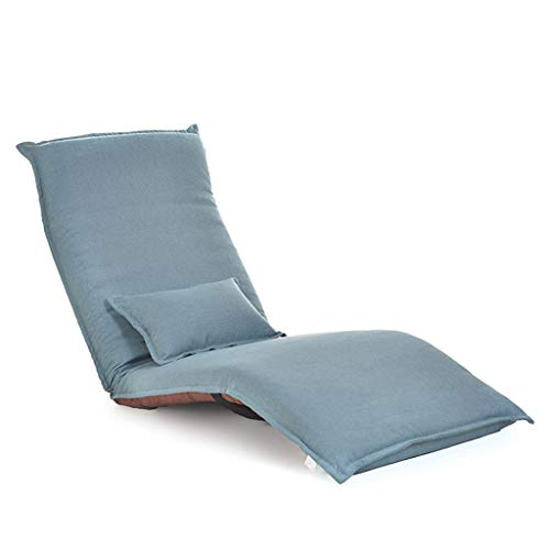 - Folding Sofa Folding Chair- Folding Lazy Sofa,Chair,Couch, Yoga mat, Casual Simple Single Bedroom Sofa Bed, Reclining Lunch Break, Chair (Color : A)