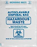 Heathrow HS1002C Autoclave Bags, 610 x 810 mm (Pack of 200)