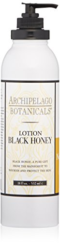 Archipelago  Black Honey Lotion, 18 Fl Oz