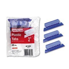 ESS42VIO - Tabs Inserts for Hanging File Folders by Pendaflex
