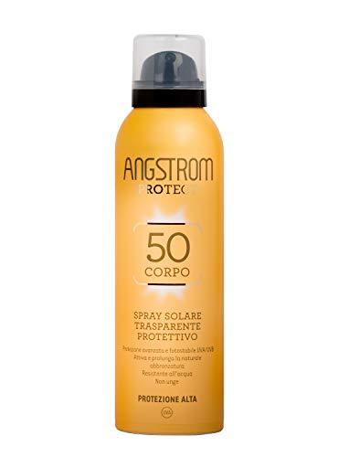 Angstrom Protect Spray Solare Trasparente Protettivo (SPF 50+) - 150 ml. 1 spesavip