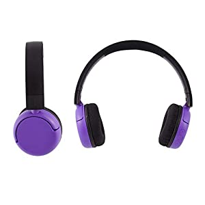 All-new, Made for Amazon, BuddyPhones | Pop Time in Purple, ages 8–15