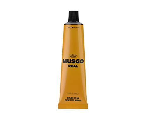 - Musgo Real Shaving Cream - Orange Amber