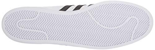 adidas Originals mens Super Star Sneaker, White/White/White, 14.5 US