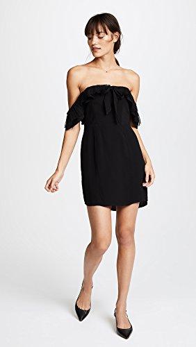 For Love & Lemons Women's Claire Off Shoulder Dress, Black, X-Small by For Love & Lemons (Image #5)