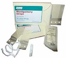 Bioseal Montgomery Straps (Units Per Pack 24 Bioseal Montgomery Straps 7 1/4 x 7 1/4