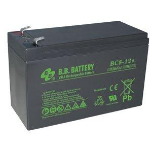 B.B. Battery 12V 18Ah Battery T2 Terminal, BC18-12-T2