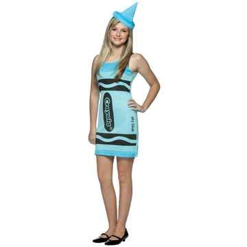 Crayola Crayon Tank Dress Costumes (Crayola Crayon Tank Dress Costume - Teen)