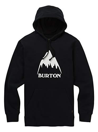 - Burton Men's Classic Mountain High Pullover Hoodie, True Black W19, XX-Large