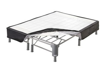 Sierra Sleep by Ashley - Better than a Box Spring All-in-One Support Foundation - Queen Size - Dark Gray by Sierra Sleep by Ashley