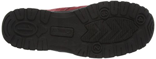 para Rojo Ganter Zapatos Weite Cordones de Derby Gwen G Mujer zqzR0r