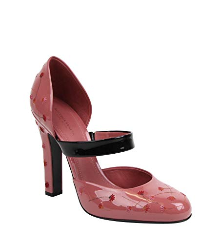 Bottega Veneta Rose Patent Leather Pumps Heels 451813 5771 (40 EU / 10 US)