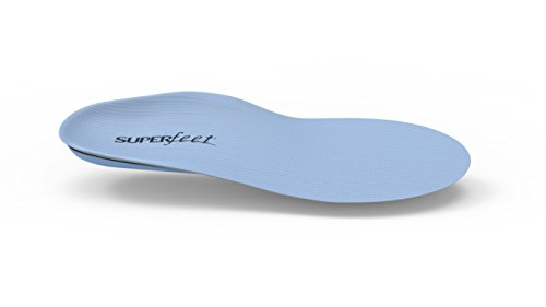 Superfeet BLUE Full Length Insole, Blue, D: 8.5 - 10 US Womens / 7.5 - 9 US Mens