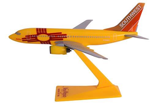 - Southwest New Mexico 737-700 Airplane Miniature Model Plastic Snap Fit 1:200 Part# ABO-73770H-005