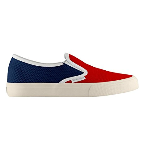 Mocasines - 2311-nylonmeshu Red-Blue
