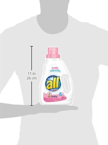 All Baby Liquid Laundry Detergent (Pack of 14) by all (Image #1)