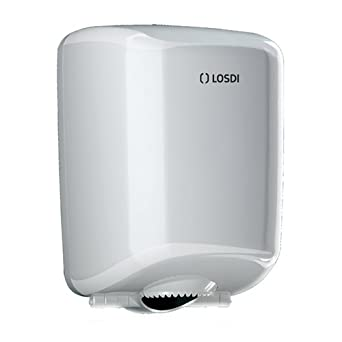 Losdi CP-521-B Dispensador Papel Mecha, Blanco: Amazon.es: Industria, empresas y ciencia