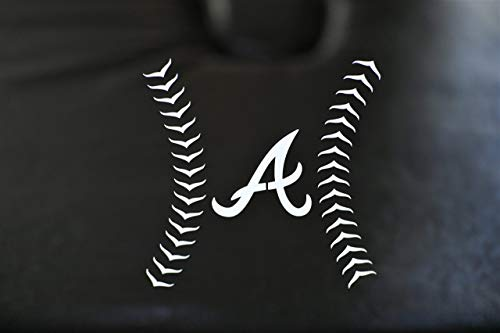 - Atlanta Braves Special Concept Stitch Series Premium Die-Cut Vinyl Auto Decal or Laptops, Yeti, Gear. Very Cool Design.