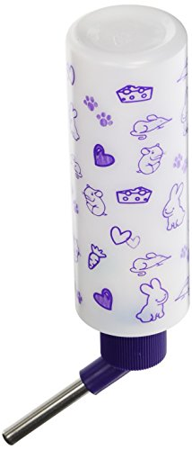Lixit Corporation SLX0535 12-Pack Critter Brites Small Animal Water Bottles, 8-Ounce, Day (Critter Water)
