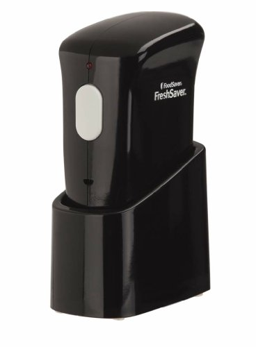 Buy Cheap FoodSaver FSFRSH0064-035 FreshSaver Handheld Vacuum Sealer, Black